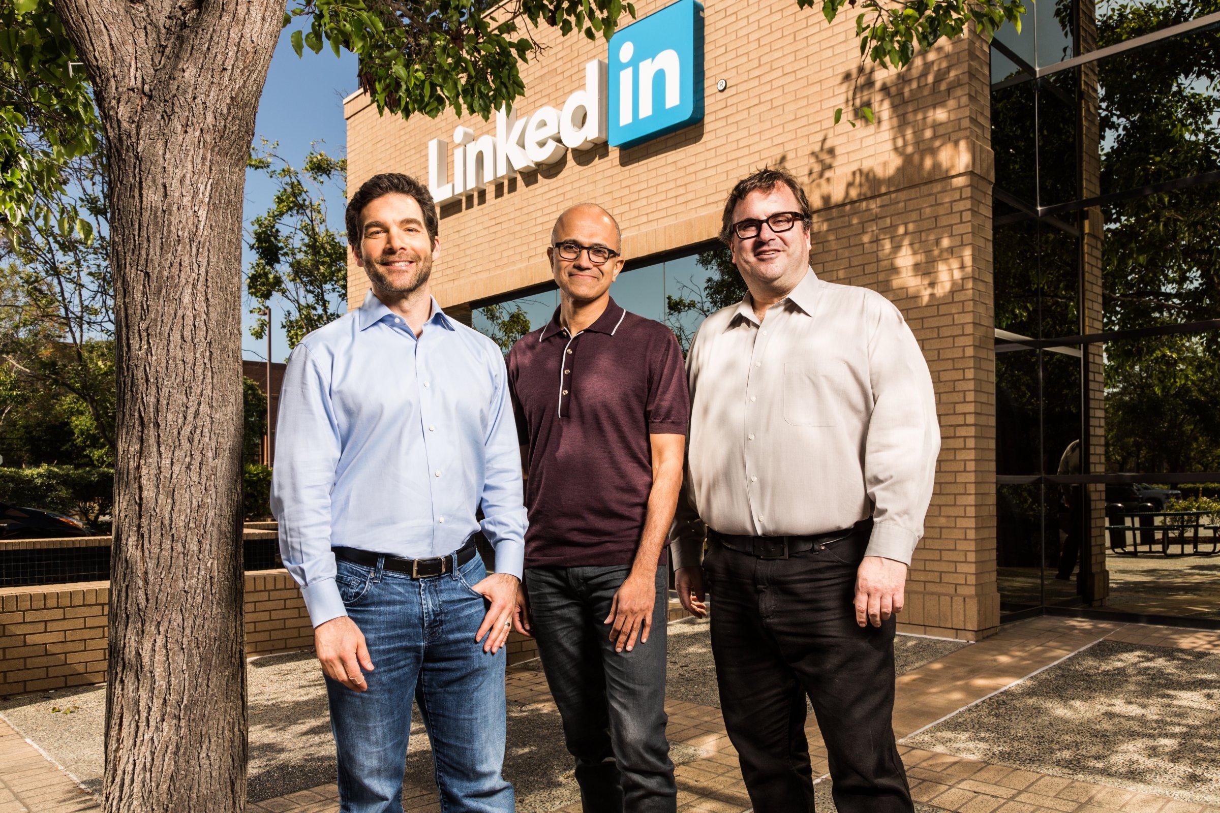 Microsoft Set To Acquire LinkedIn