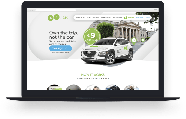 GoCar Website